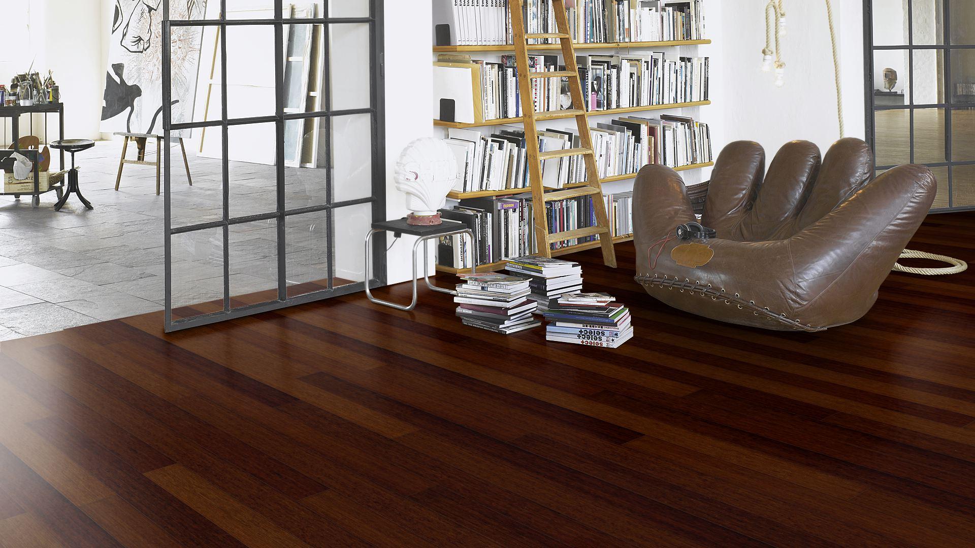 Паркет Parador, Trendtime 1, 1144697 Бамбук шоколадный, лак, Natur, 1-полосный